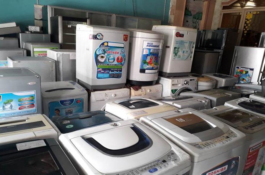 Việt Thái chuyên thu mua máy giặt cũ giá cao tại tphcm