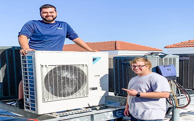Quy trình ráp máy lạnh quận 2 chuyên nghiệp