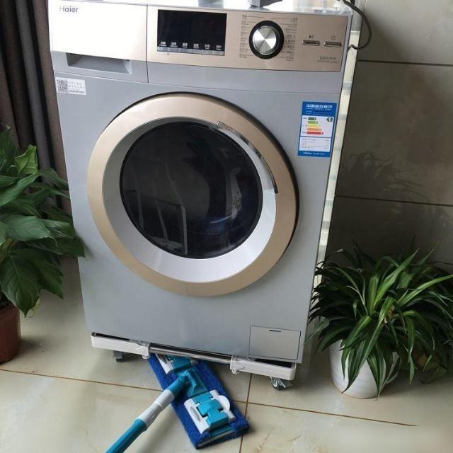Kê chân đế máy giặt dễ dàng vệ sinh