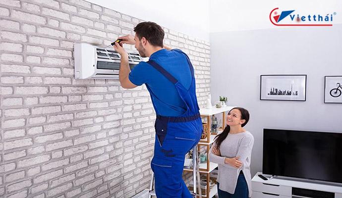 lắp đặt máy lạnh đúng kỹ thuật