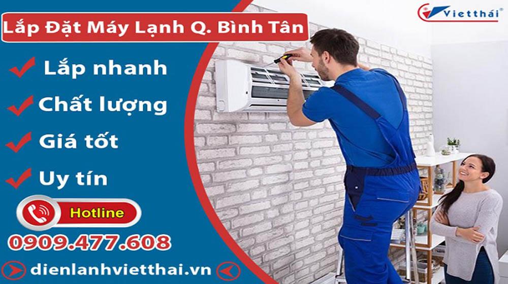 Dịch vụ lắp đặt máy lạnh quận Bình Tân