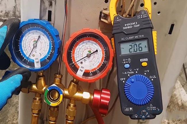 hết gas là nguyên nhân máy lạnh chỉ ra gió không lạnh