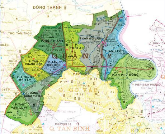 bản đồ vệ sinh máy lạnh quận 12