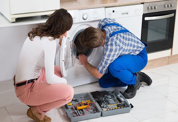 Quy trình sửa máy giặt của Việt Thái rất chuyên nghiệp