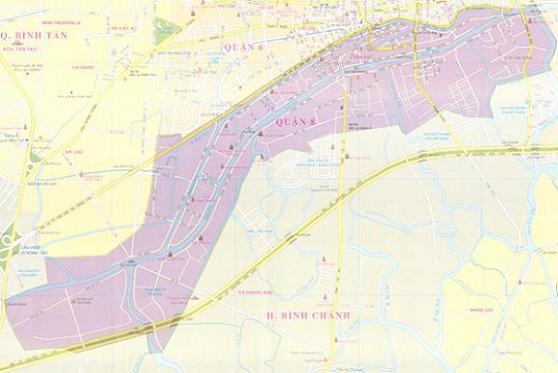bản đồ vệ sinh máy lạnh quận 8 của Việt Thái