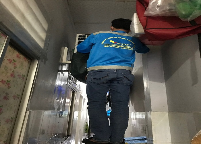 Thợ vệ sinh máy lạnh quận 11