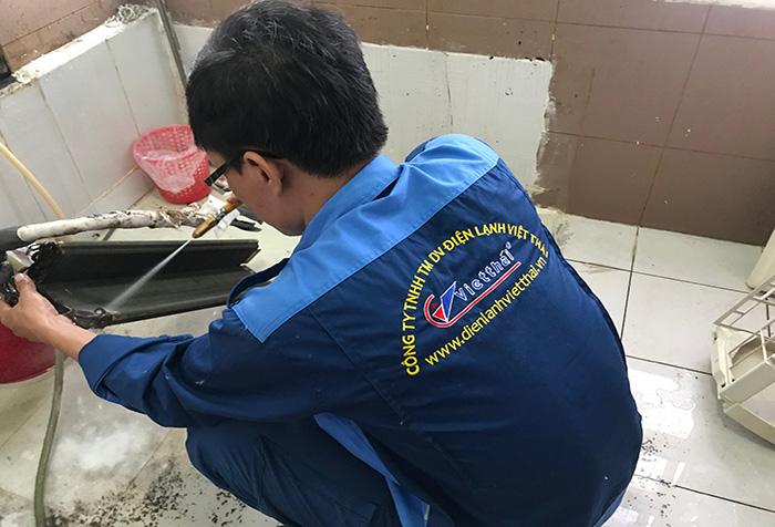 thợ vệ sinh máy lạnh quận 6