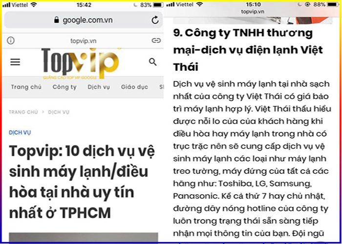 top 10 dịch vụ rửa máy lạnh uy tín tại TPHCM