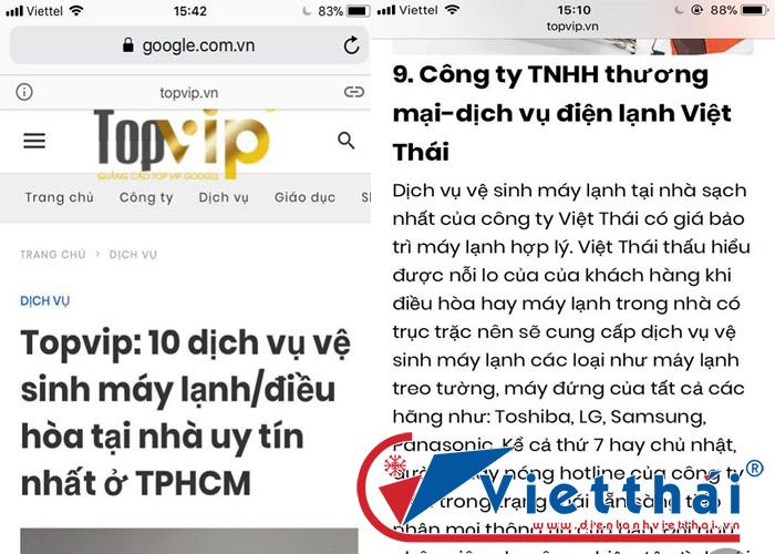 top 10 địa chỉ vệ sinh máy lạnh uy tín nhất tphcm