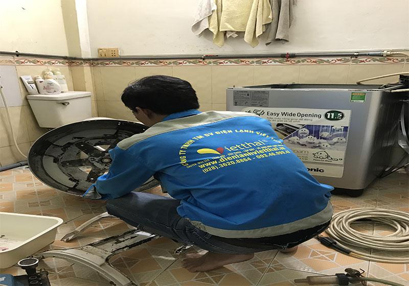 Dịch vụ vệ sinh máy giặt tại quận Bình Tân