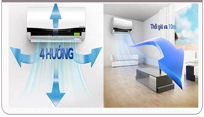 Chọn vị trí lắp máy lạnh thông thoáng